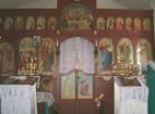 """Годечки манастир - Иконостасът в църквата""""Св. 7-численици"""""""