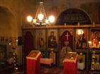 Горнобански манастир - Иконостасът в църквата