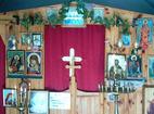 Горнобрезнишки манастир - Вътрешността на църквата