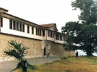 Горноводенски манастир - Манастирските стени