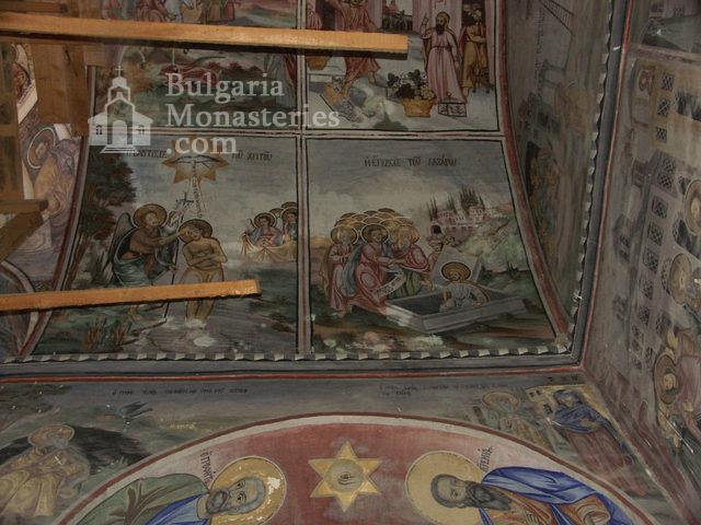 Горноводенски манастир - Стенописи в църквата (Снимка 10 от 20)