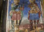 Горноводенски манастир - Стенописи в църквата