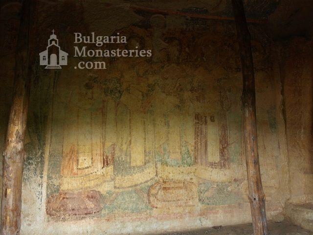 Ивановски манастир - Стенописи в параклис Св. арх. Михаил (Снимка 41 от 41)