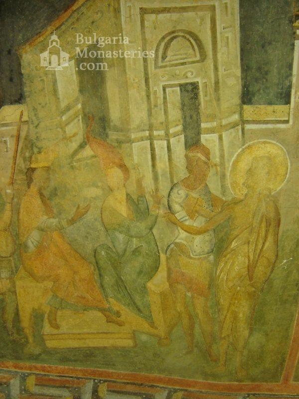 Ивановски манастир - Стенописи в църквата Св. Богородица (Снимка 6 от 41)