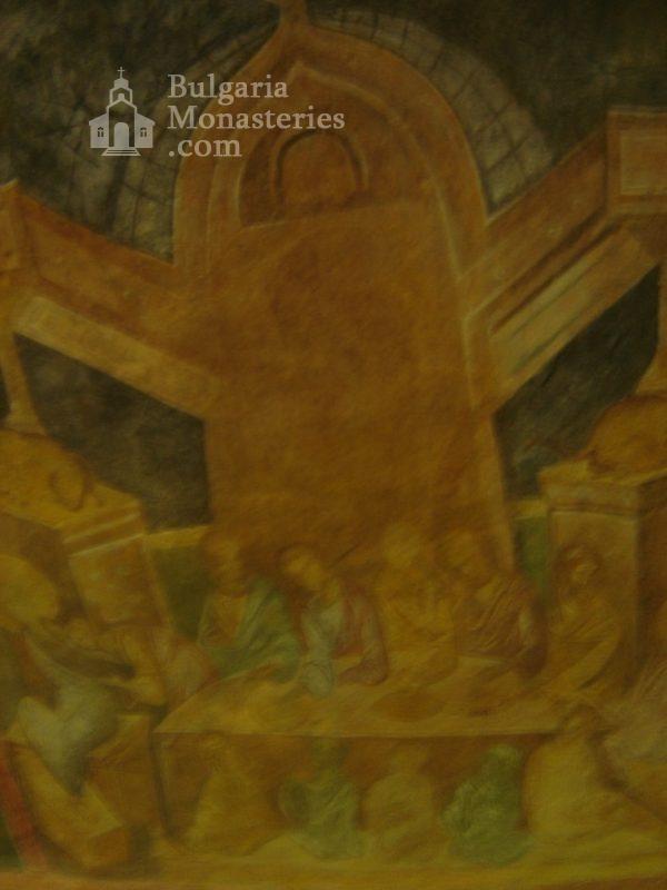 Ивановски манастир - Стенописи в църквата Св. Богородица (Снимка 10 от 41)