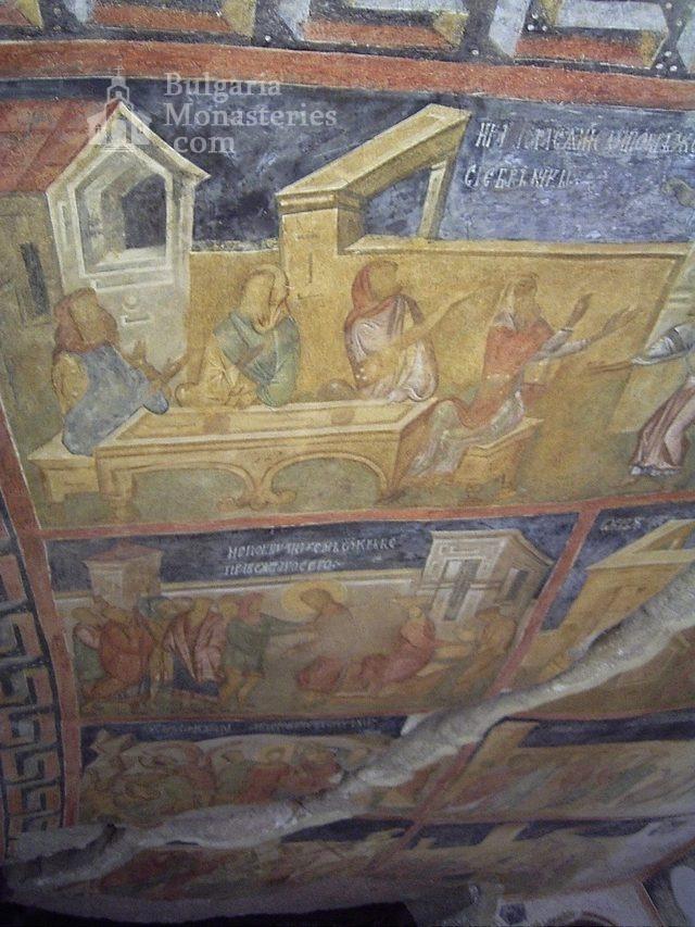 Ивановски манастир - Стенописи в църквата Св. Богородица (Снимка 13 от 41)