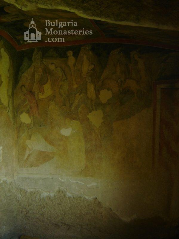 Ивановски манастир - Стенописи в църквата Св. Богородица (Снимка 16 от 41)