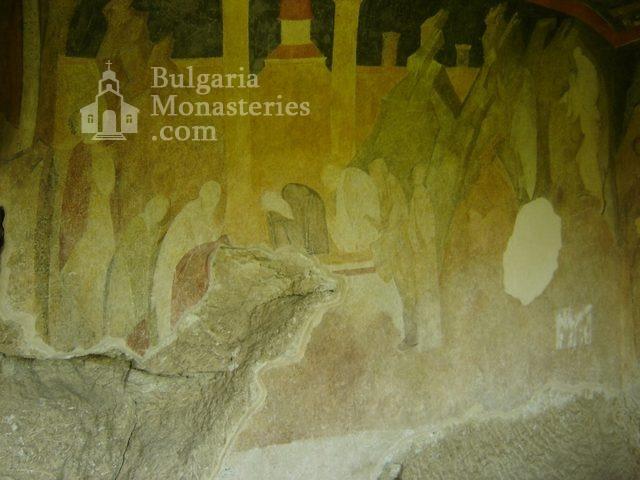 Ивановски манастир - Стенописи в църквата Св. Богородица (Снимка 17 от 41)