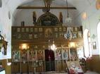 Калугеровски манастир - Иконостасът в църквата
