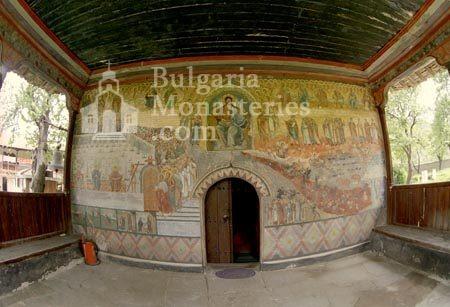 Къпиновски манастир - Църквата