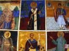 Кладнишки манастир - Стенописите в църквата