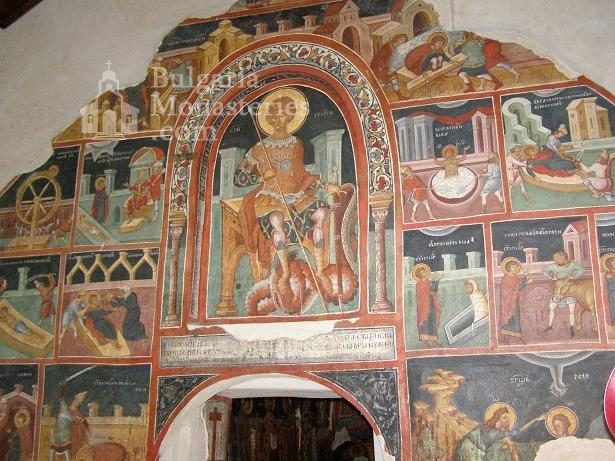 Кремиковски манастир - Стенописи в старата църква (Снимка 12 от 29)