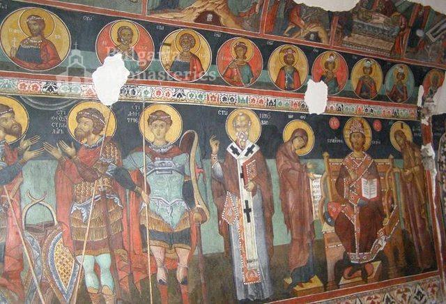 Кремиковски манастир - Стенописи в старата църква (Снимка 13 от 29)