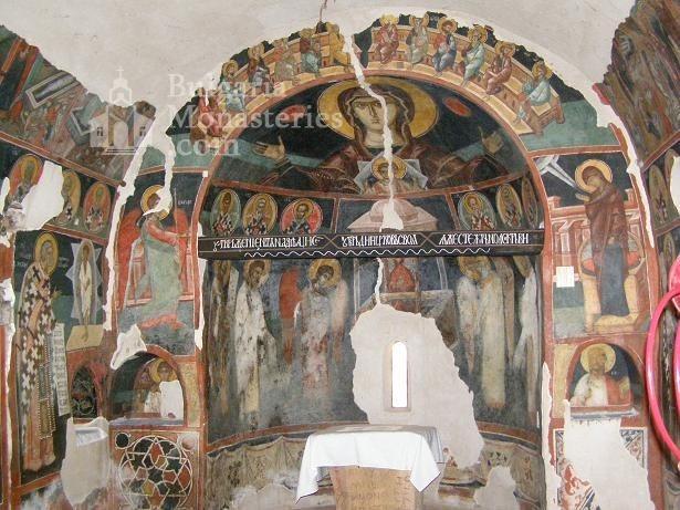 Кремиковски манастир - Стенописи в старата църква (Снимка 14 от 29)
