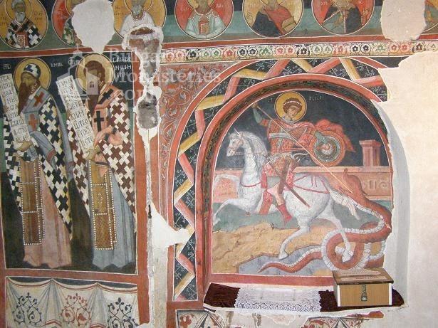Кремиковски манастир - Стенописи в старата църква (Снимка 15 от 29)