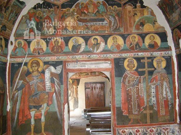Кремиковски манастир - Стенописи в старата църква (Снимка 16 от 29)