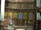Лопушански манастир - Иконостасът в църквата
