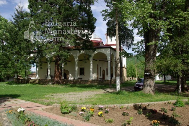 Лопушански манастир - Църквата