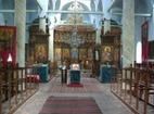 Лопушански манастир - Вътрешността на църквата