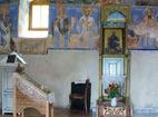 Лозенски манастир - Вътрешността на църквата
