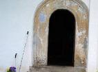 Лозенски манастир - Входът на църквата