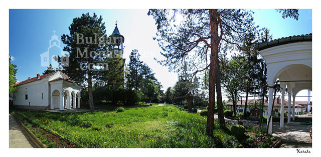 Лясковски манастир - Комплексът от вътре (Снимка 2 от 13)