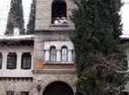 Мъглижки манастир - Манастирският вход
