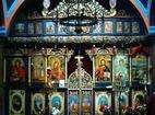 Мердански манастир - Иконостасът в църквата