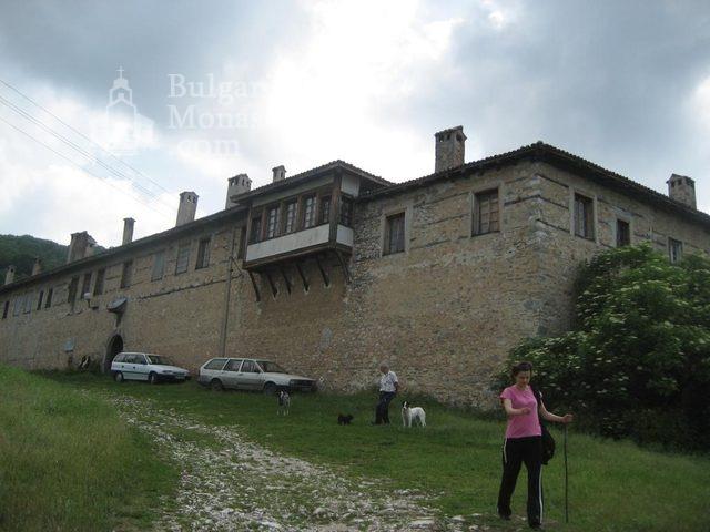 Мулдавски манастир - Манастирските стени (Снимка 19 от 31)