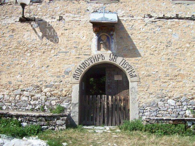Мулдавски манастир - Манастирският вход (Снимка 21 от 31)