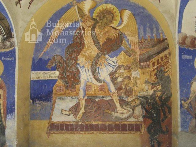Мулдавски манастир - Стенописи в църквата (Снимка 12 от 31)