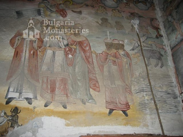 Мулдавски манастир - Стенописи в църквата (Снимка 17 от 31)
