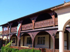 Обрадовски манастир - Жилищните сгради