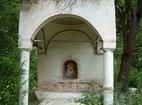 Пещерски манастир - Дворът на манастира