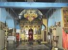 Поморийски манастир - Иконостасът в църквата