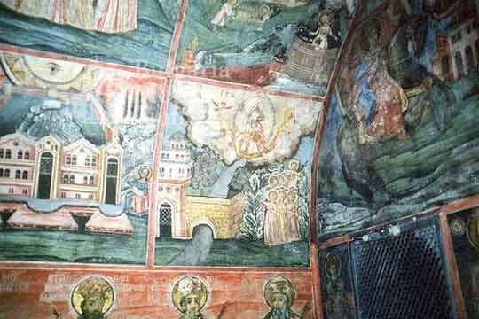 Преображенски манастир - Стенописи в църквата (Снимка 21 от 29)