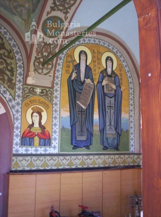Присовски манастир - Стенописи в църквата - 17 в. (Снимка 2 от 16)