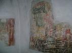 Разбоишки манастир - Замазаните стенописис в църквата