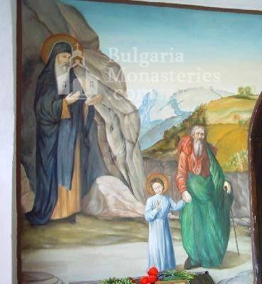 Руенски манастир - Стенописи в църквата (Снимка 12 от 19)