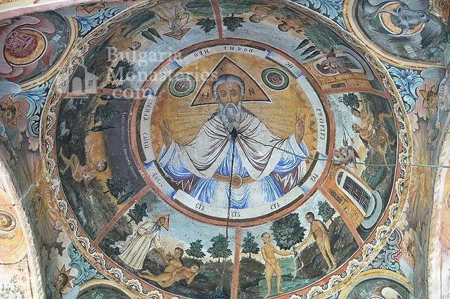 Троянски манастир - Стенопис на купола (Снимка 19 от 50)