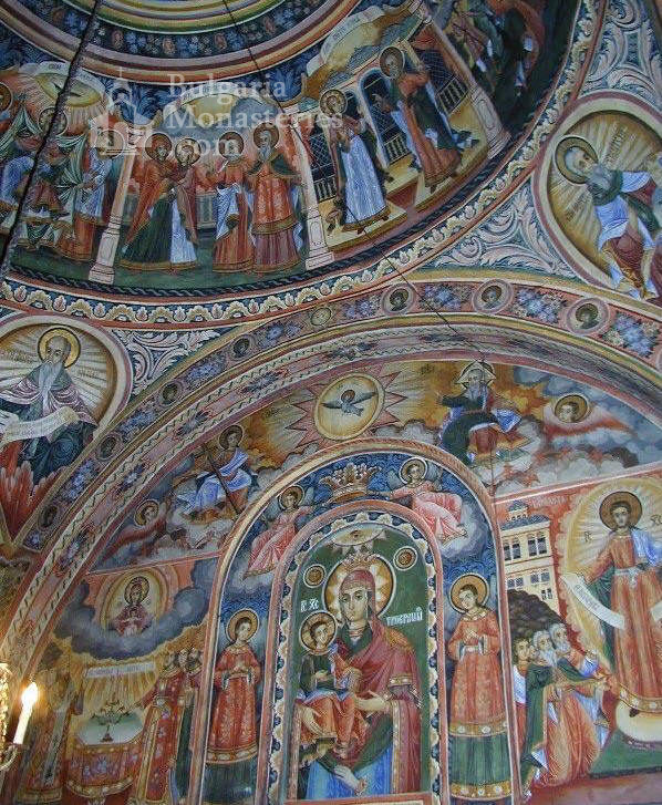Троянски манастир - Стенопис на купола (Снимка 22 от 50)