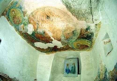 Aladzha Monastery - Fragment of the frescoes (Picture 7 of 27)