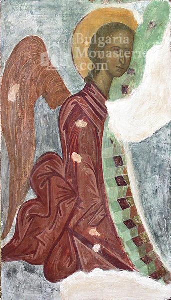 Aladzha Monastery - Fragment of the frescoes (Picture 8 of 27)