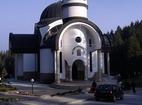 Bulgarian monasteries tour - Pamporovo church