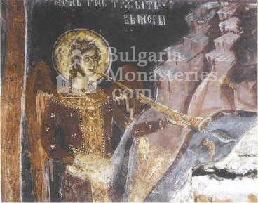 Dragalevtsi Monastery - Angel  (Picture 21 of 22)