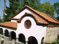 "Dragalevtsi Monastery - The church ""The Nativity of the Virgin"""