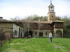 Plakovski Monastery - The building with the church tower