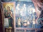 Transfiguration monastery  - Murals in the church